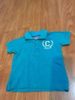 Kaos polo coolbaby 6-9months