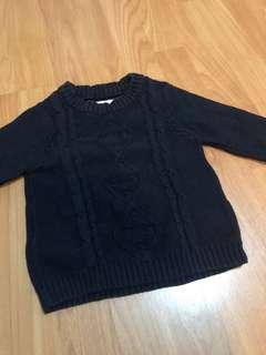 Sweater Navy rajut size 1