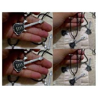 Kalung Guitar Stainless Steel