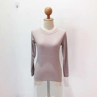 🆕BRAND NEW Round Neck Nude Cotton Top Inner Top