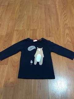 sweater navy sprout newborn size 00