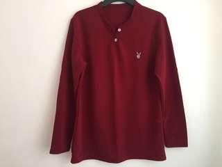 REPRICED! Red long sleeves