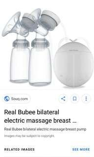 Breast Pump / real bubee / automatic double breastpump