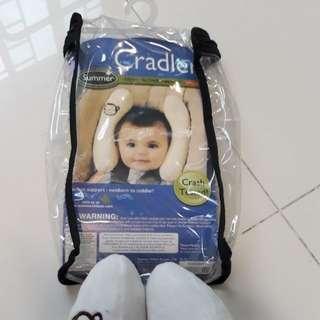 Cradler adjustable head support