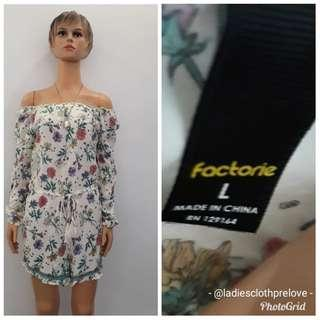 Jumpsuit factory size L ( short jumpsuit / sabrina jumpsuit / jumpsuit pendek / floral jumpsuit / jumpsuit cantik / jumpsuit import / summer dress )