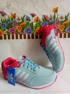 Adidas biru mix pink