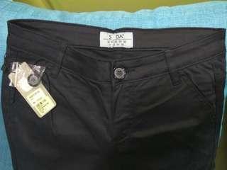 SODA black long pants