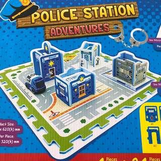 Police Station Adventure Mat Puzzle