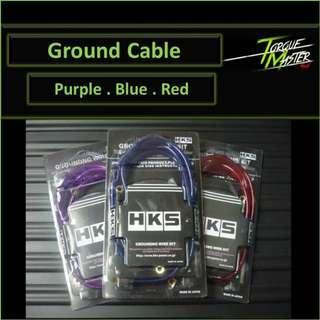 Ground Cable . Red /Blue /Purple .installation available.
