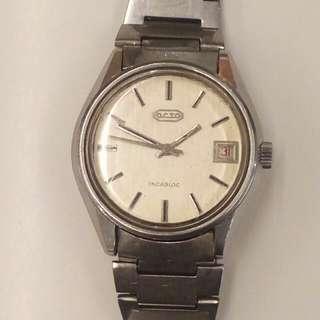 70年代瑞士樂都上鏈錶