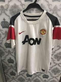 Manchester United Jersey AoN 2010 made in Morroco