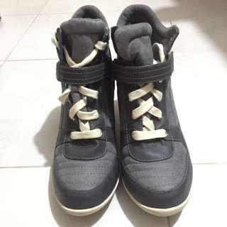 全新H&M 高跟鞋 波鞋 灰色 100%new 40號