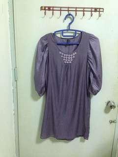 Purple Dress Nafnaf
