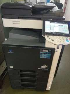 KonicaMinolta 360高速彩色影印機36張每分鐘印