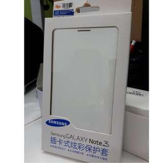 Samsung  Galaxy Note 3 Flip Wallet White