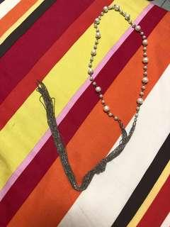 襯衫珍珠長鏈