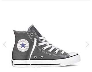 Converse Chuck Taylor High Cut- Grey
