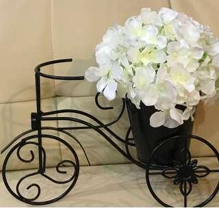 Minimal Chic Bicycle Hydrangea Vase