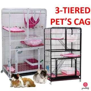 *NEW ARRIVAL* Cat cage 2 or 3 level tier