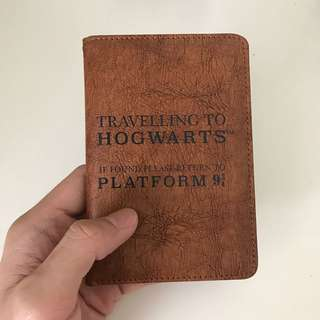 Hogwarts Harry Potter Passport Leather Case