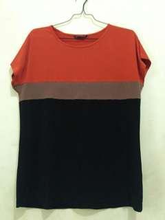 Bigsize blouse Simpel Adem