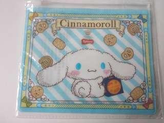 全新 sanrio玉桂狗cinnamoroll 拉鍊文件袋