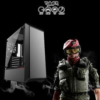 Gaming Stealth Desktop -  Best performance for price deal! (i5-8600 + GTX 1060 6GB)