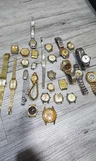 Old lady watches all must repair 28 pcs