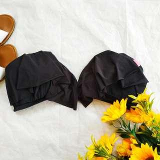 Cotton On Black Flounced Bikini