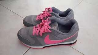 (End of month 24hr SALE) Grey Pink Nike running shoes