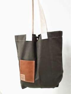 Handmade A3 size Canvas Tote Bag #XMAS25