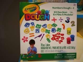 Crayola Numerical Art Dough Kit