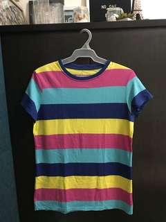 Human Striped T-shirt