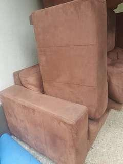 Sofa 1+2+3 baldu bersih dan cantek siap hantar