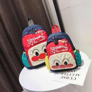韓版幼兒園麵包超人大書包/束口防走失後背包