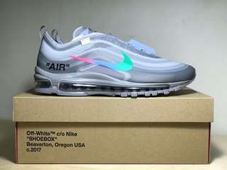 110ecfe81d5 Nike Off-White Air Max 97 US10