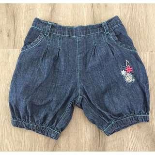 Denim Baby Girl Shorts