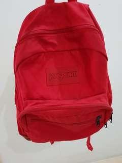 Jansport Backpack Red