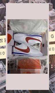 Nike Classic Cortez SE White Red Blue