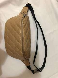 Bumbag nude leather
