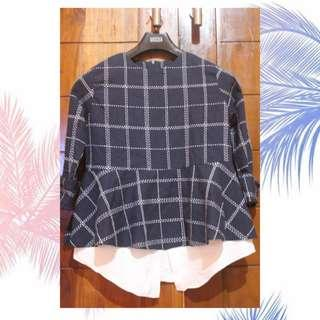 CASUAL BLOUSE NAVY