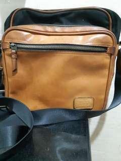 Tumi shoulder anniversary original bekas leather #yukjualan