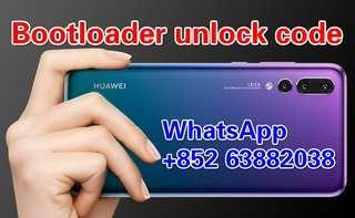Huawei Bootloader unlock code