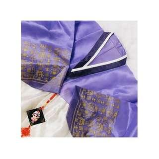Sewa hanbok purple