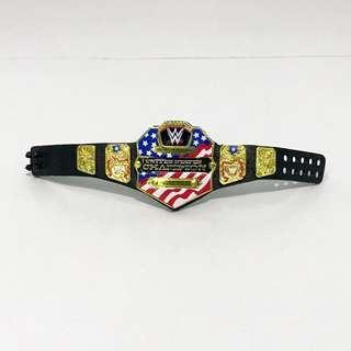 WWE Mattel Shinning US championship belt