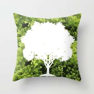 🚚 Save Our Trees Throw Pillow Cushion Cover