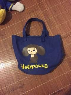 Ueaypawka 可愛圖案手提包 便當袋