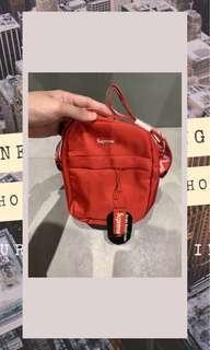 Supreme Shoulder Bag SS18 Red Edition