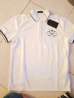 Prada men Polo Shirt size xl slim fit