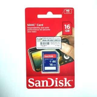 全新行貨 SanDisk SDHC 16GB Memory Card Class4 16G 16GB 記憶卡